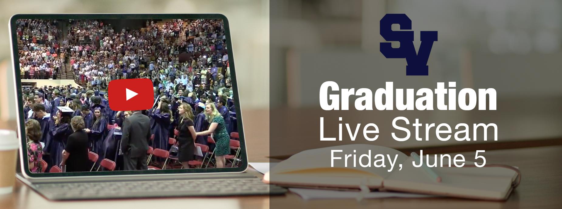 Live Stream Graduation Banner