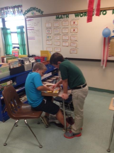 Students helping each other learn