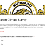 Parent Climate Survey