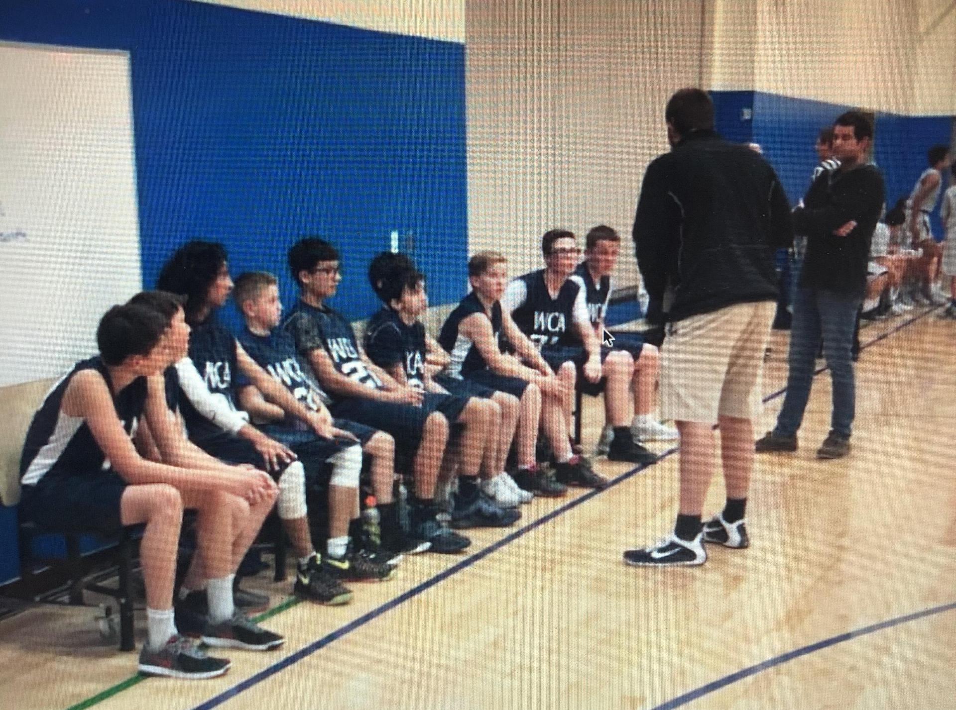 boys basketball team