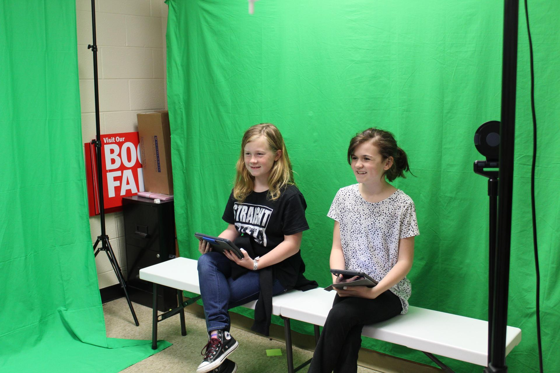 Image of Morning Announcements Crew in Action