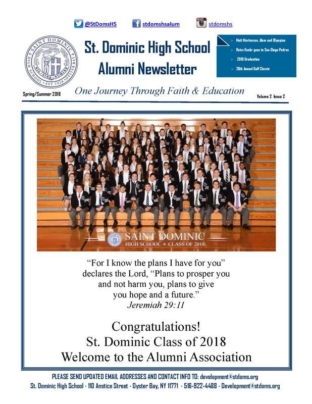Alumni Newsletter: Spring/Summer 2018 Edition Featured Photo