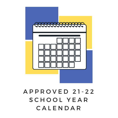 Approved 21-22 School Year Calendar Featured Photo