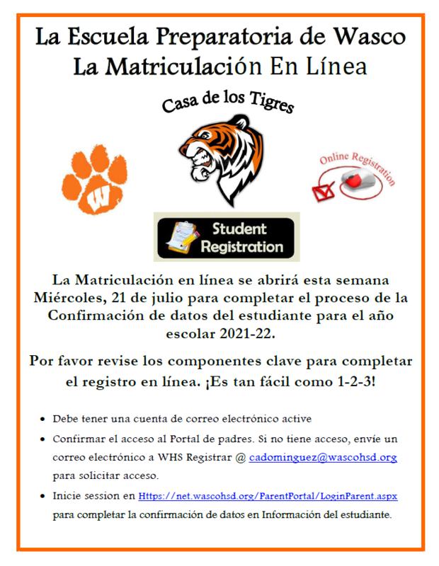 Spanish Flyer - Online Registration 2021-22.PNG