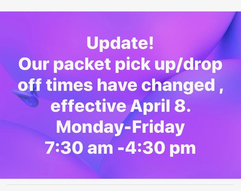ASSIGNMENT PICK UP AND DROP OFF TIME CHANGE Featured Photo