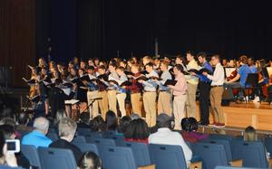 Central Bucks East High School Select Choir perform Only in Sleep and Great Day