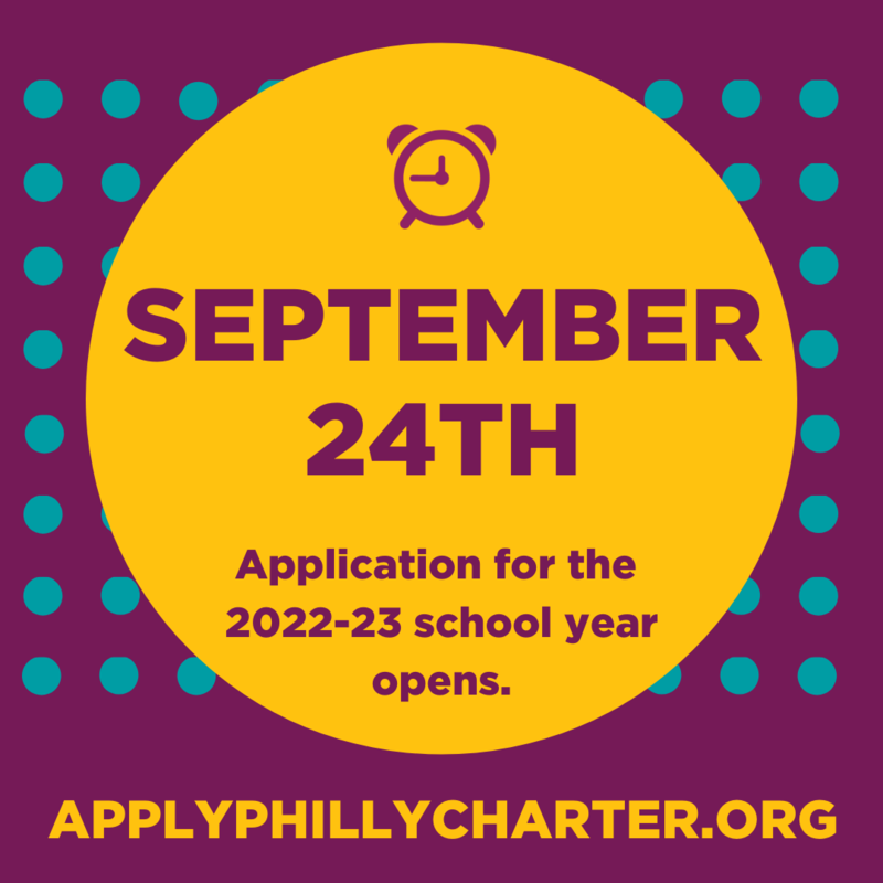 Applications for the 2021-2022 school year open on September 24 through Apply Philly Charter! Featured Photo