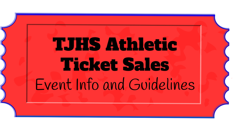 Image of Ticket titled with TJHS Athletic Ticket Sales