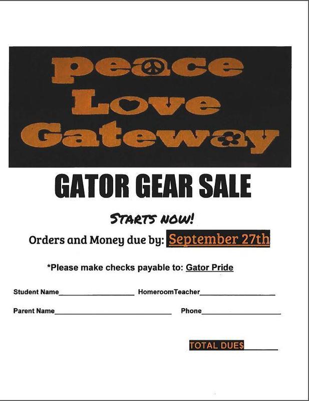 Please make checks payable to:  Gator Pride