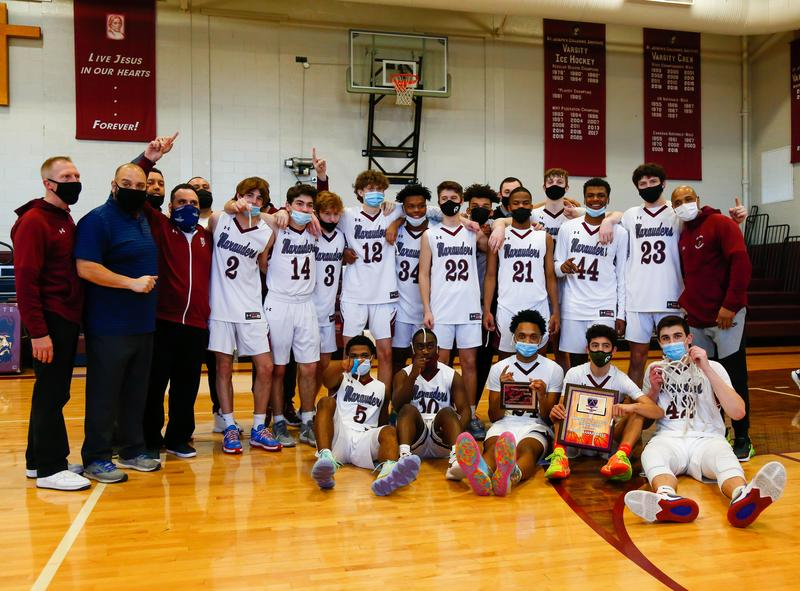 Basketball Wins Manhattan Cup Featured Photo