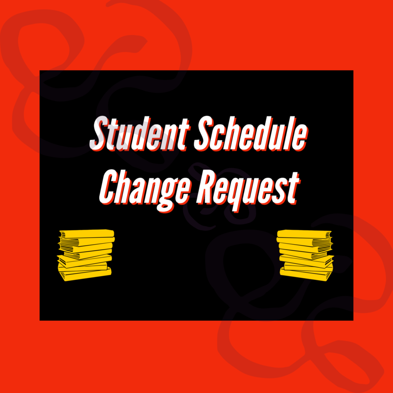 Student Schedule Change Request Thumbnail Image