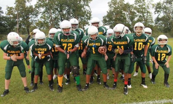 Go Plaisance Middle School Football Team !