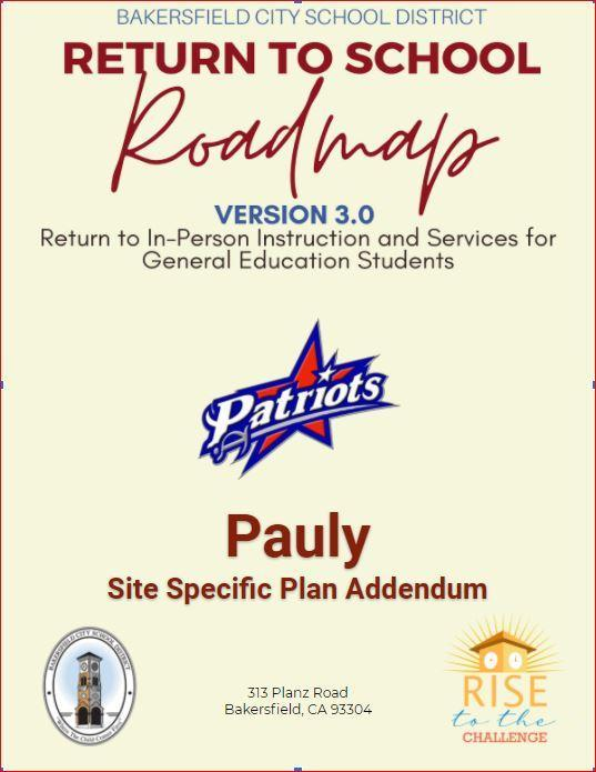 Pauly Return to school 3.0 Featured Photo