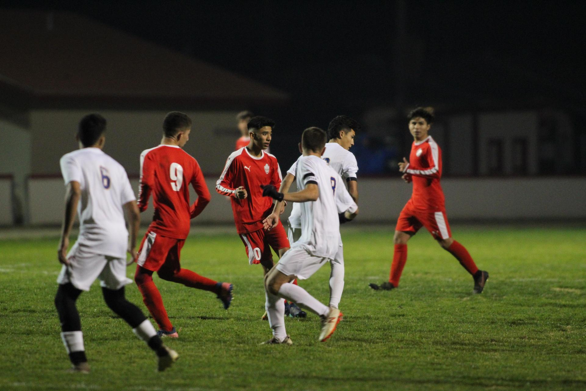 V Boy's Soccer Against Dos Palos