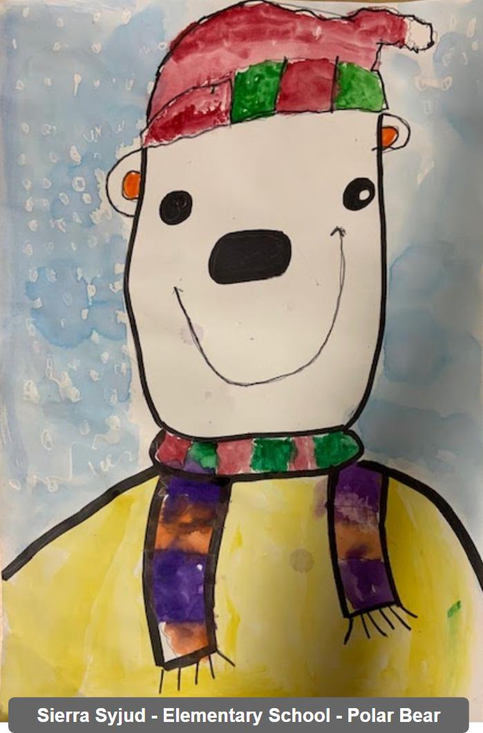 Sierra Syjud - Elementary School - Polar Bear