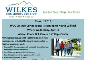 College Connections at North Wilkes