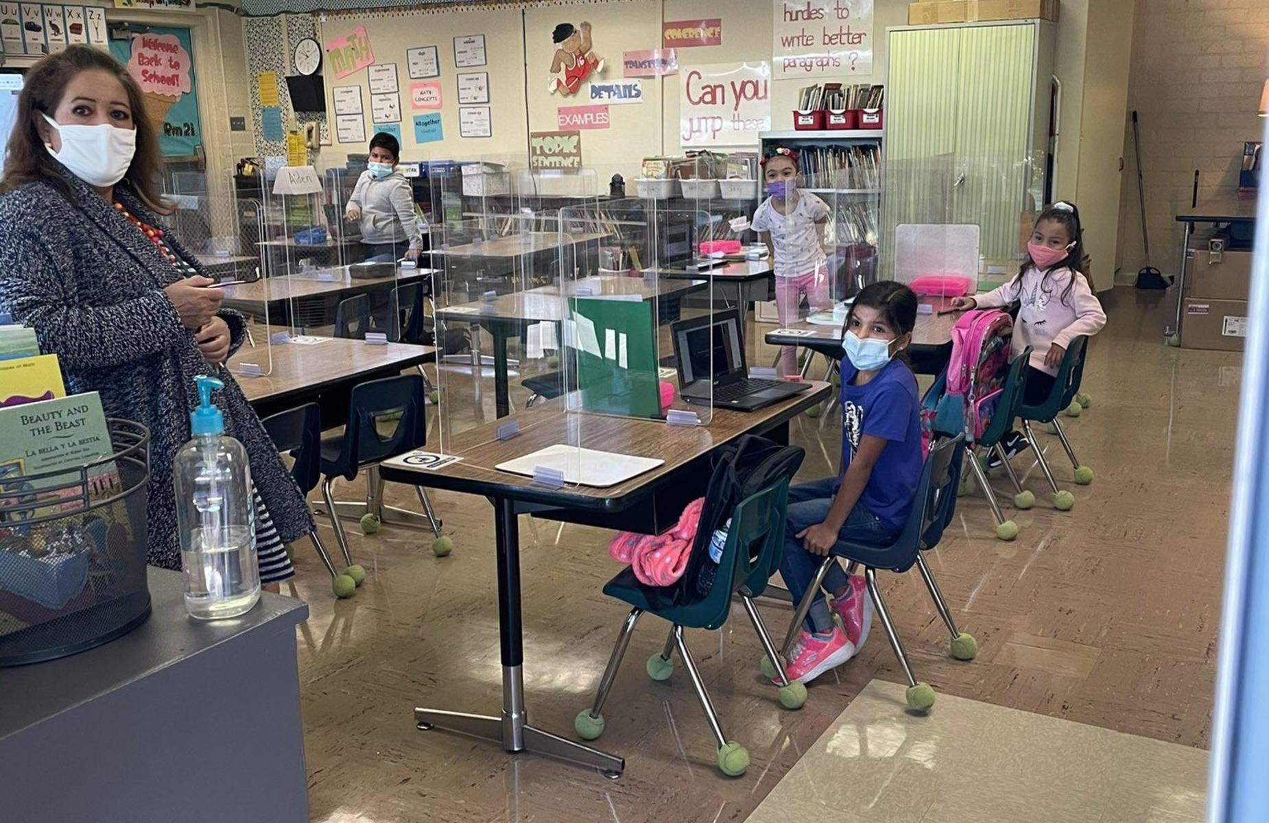 Welcome back to Philadelphia's TK-1st Grade! We are thrilled to have our scholars on campus and learning in person from their amazing teachers. #itsgoodtobeaphillie #proud2bepusd #cityofpomona