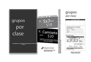 Spanish Group Spring Pictures Flyer
