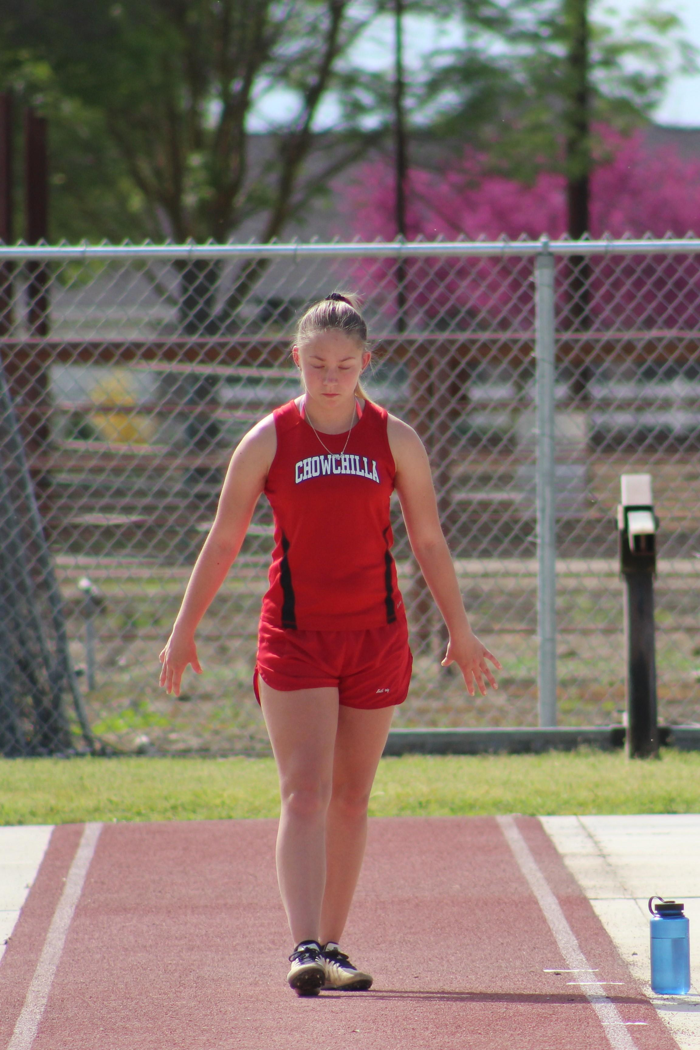 Track and Field athletes competing at Washington Union