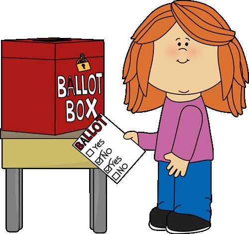 girl voting