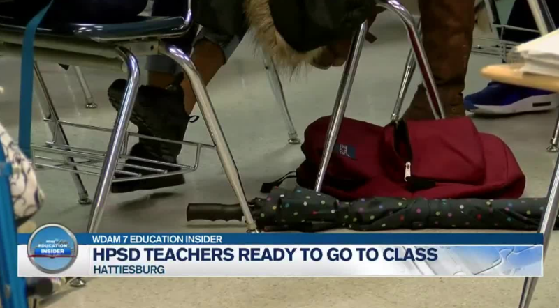 WDAM: HPSD Teachers Ready To Go To Class Featured Photo