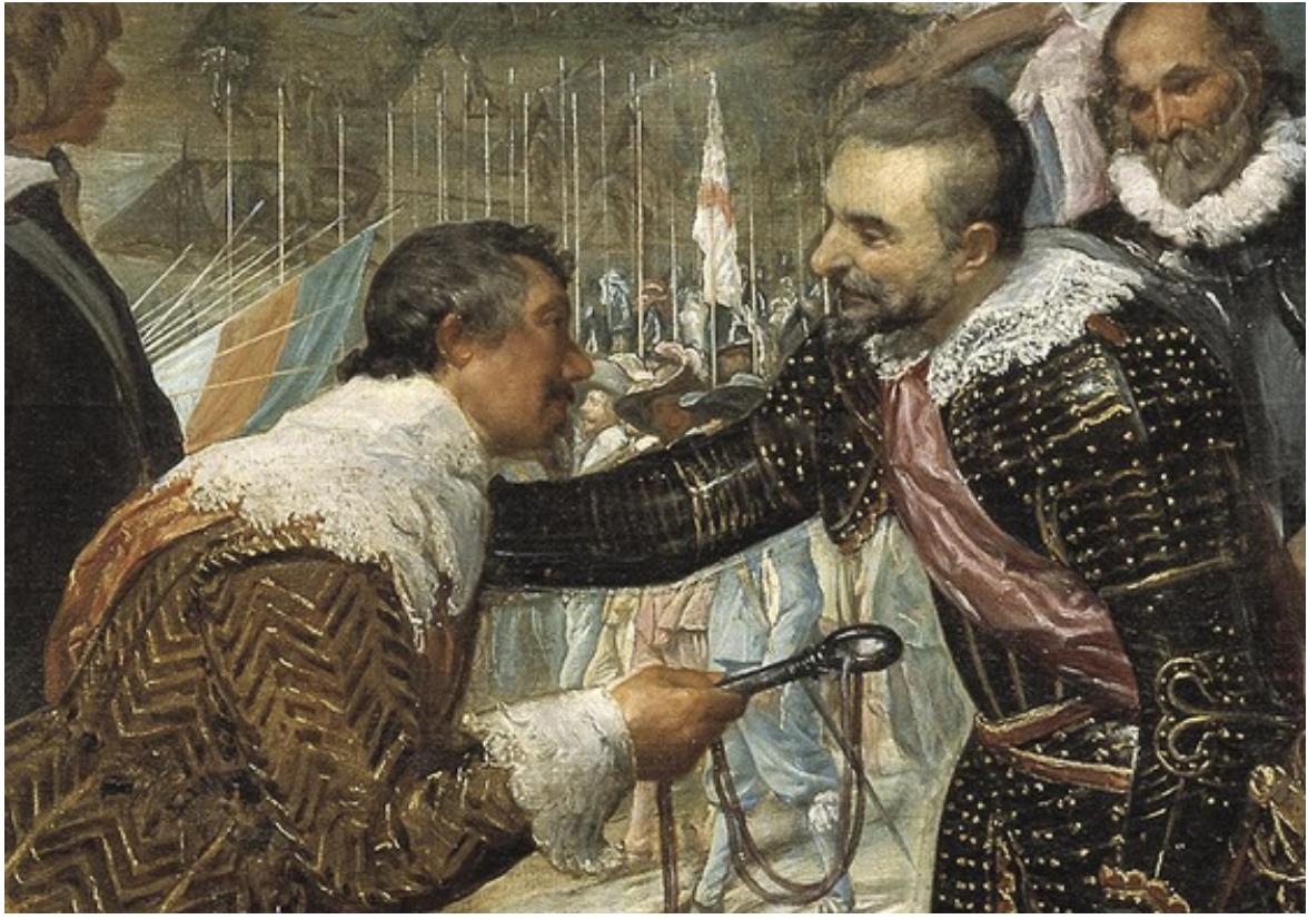 Detail of Surrender at Breda