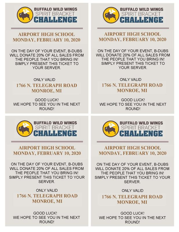 BWW School Spirit Bracket Challenge