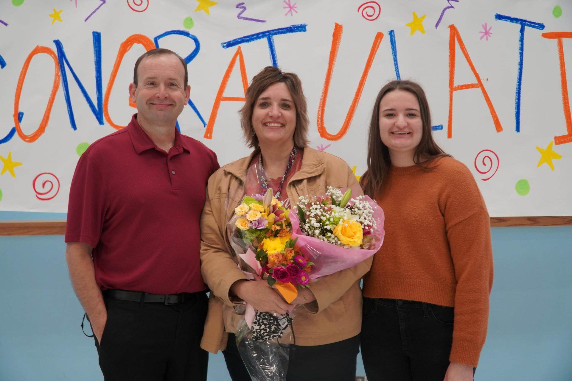 Susan Skrabanek and her family