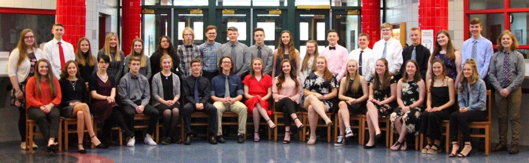 National Honor Society Inductees 2019