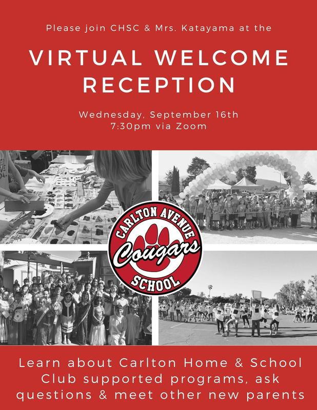 CHSC Virtual Welcome Reception Featured Photo