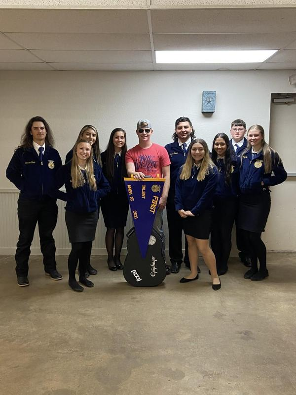 Victoria East HS FFA participated in the Area XI FFA Convention Thumbnail Image