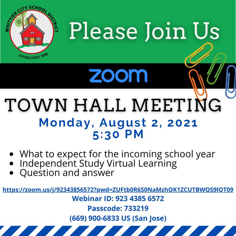 Town Hall Invite