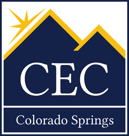 CEC Colorado Springs Square Logo