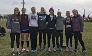 2018 XC Team Girls