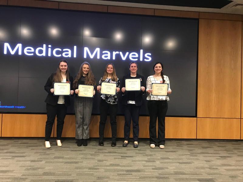 SHA Students Win Best Presentation in Northwell Medical Marvel Competition Featured Photo