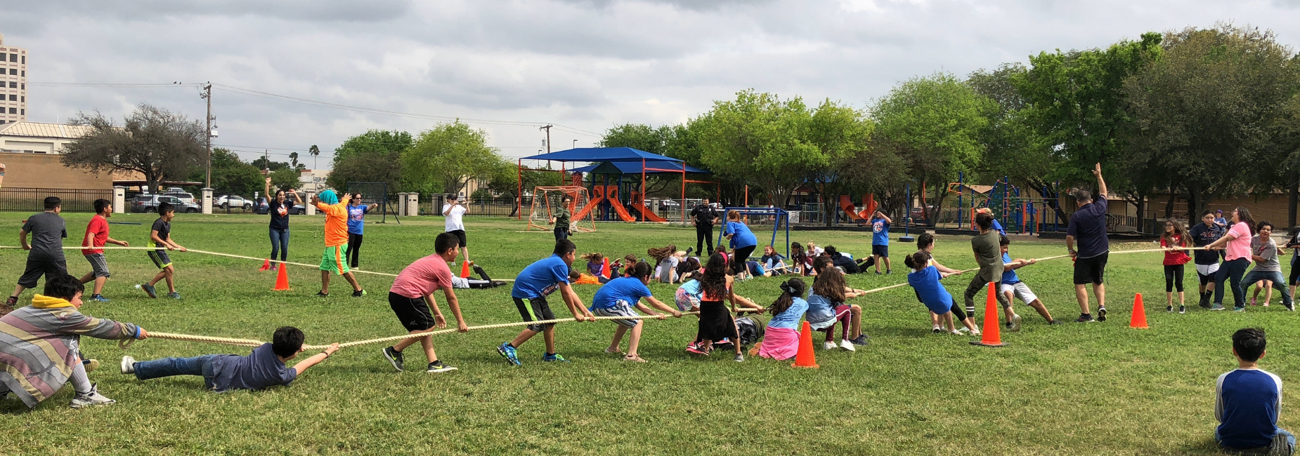 Milam Field Day Tug of War