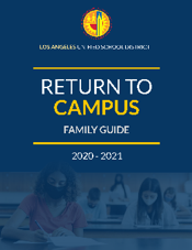 return to campus flyer