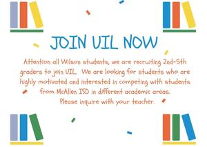 UIL Recruitment