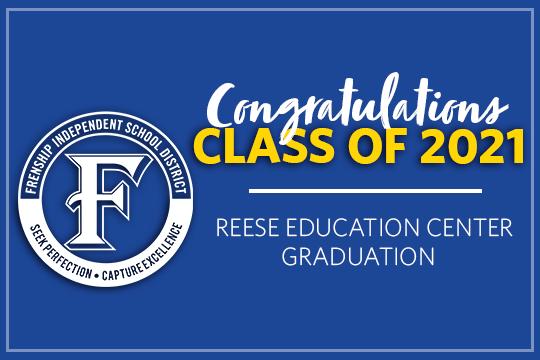 Reese Education Center Graduation Live Stream