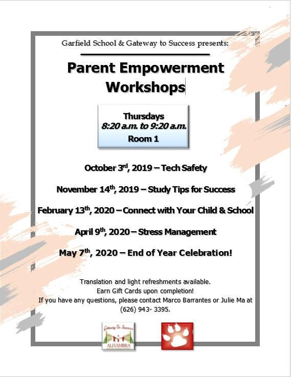 PARENT EMPOWERMENT WORKSHOPS Featured Photo