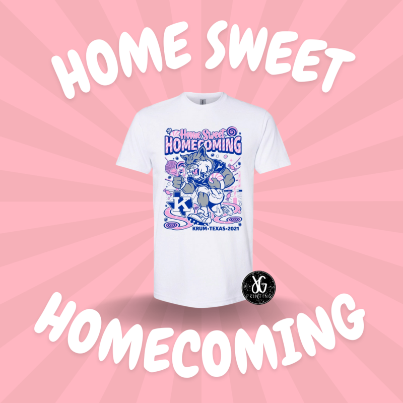 bobcat home sweet homecoming shirt