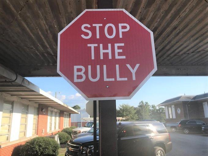Stop the Bullying Sign