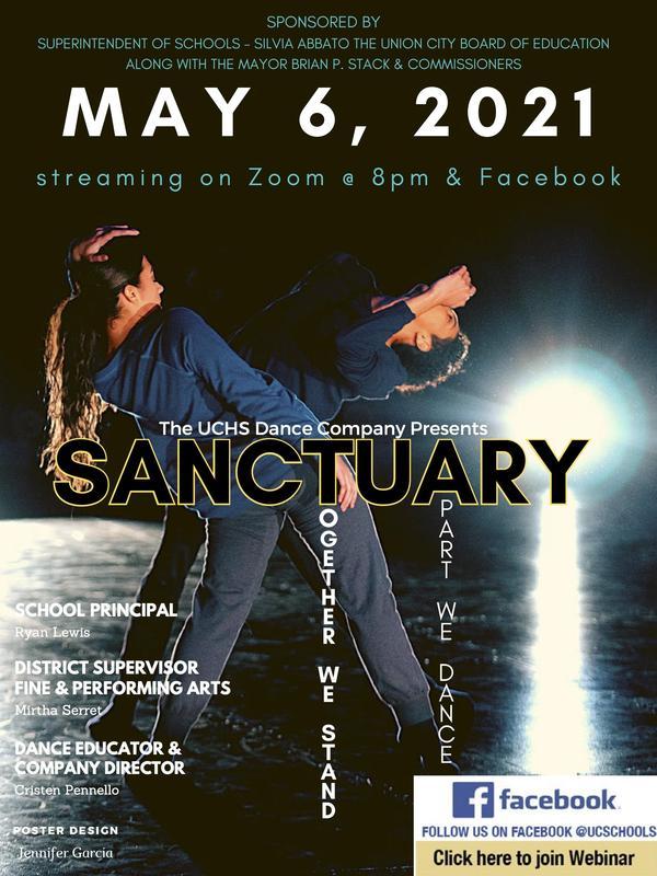 Sanctuary dance poster