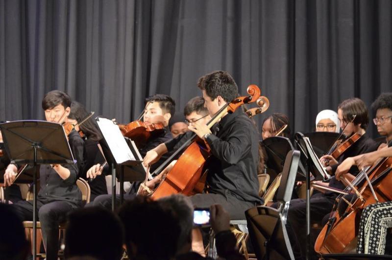 Amundsen Students Make Beautiful Music Together! Featured Photo