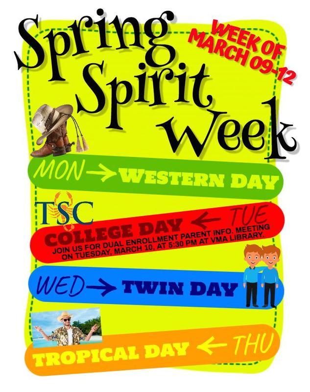 Spring Spirit Week