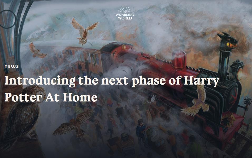 Daniel Radcliffe reading Harry Potter