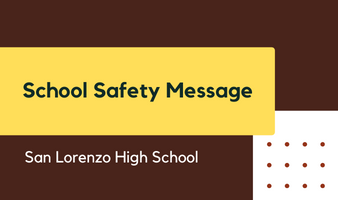 School Safety Message Featured Photo