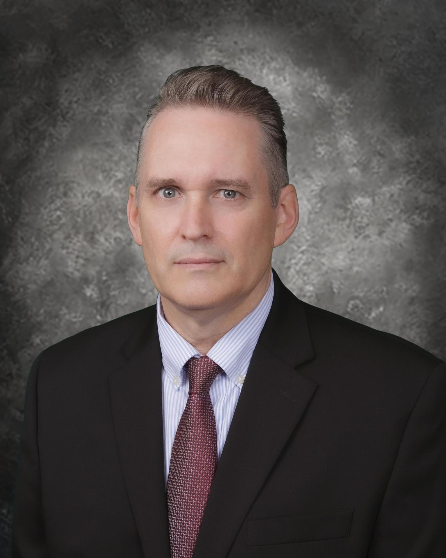 Mr McDonough portrait 2020
