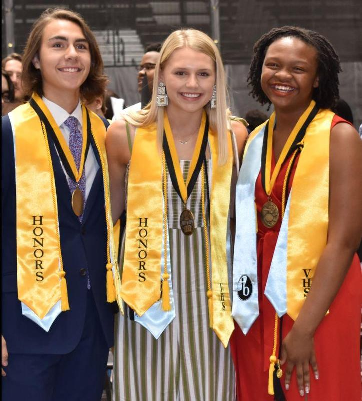 Top 3 Grads for 2019