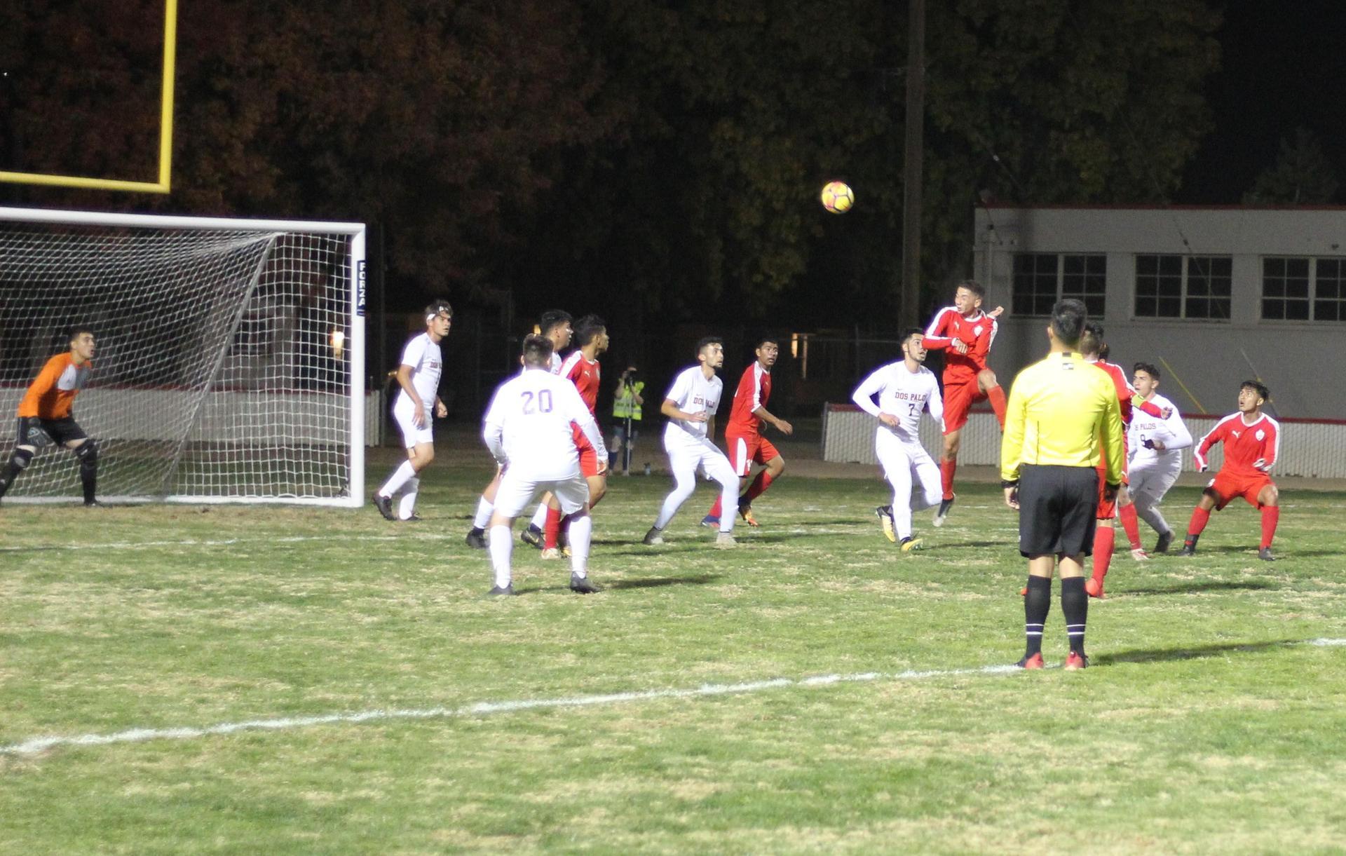 Chowchilla playing offense